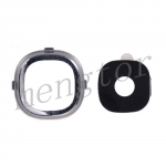 Rear Camera Glass Lens and Cover Bezel Ring for Samsung Galaxy S4 i9500/ i9505/ i337/ i545/ L720/ M919/ R970