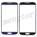 Touch Screen Glass for Samsung Galaxy S4 - Light Blue