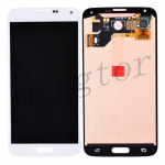 LCD Screen Display with Touch Digitizer Panel for Samsung Galaxy S5 i9600/ G900F/ G900H/ G900M/ G9001/ G9008V/ G900A/ G900T/ G900V/ G900R4/ G900P (for SAMSUNG)  - Shimmery White