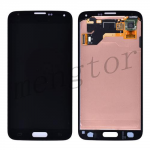 LCD Screen Display with Touch Digitizer Panel for Samsung Galaxy S5 i9600/ G900F/ G900H/ G900M/ G9001/ G9008V/ G900A/ G900T/ G900V/ G900R4/ G900P (for SAMSUNG)  - Charcoal Black
