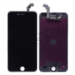 LCD with Touch Screen Digitizer with Frame for iPhone 6 Plus (5.5 inches)  (Generic)  - Black