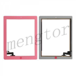 Touch Screen Digitizer with Home Button for iPad 2-Pink