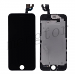 LCD with Touch Screen Digitizer, Frame and Front Camera for iPhone 6 (4.7 inches) (Generic) - Black