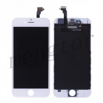LCD with Touch Screen Digitizer with Frame for iPhone 6 (4.7 inches)  (High Quality) -White