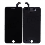LCD with Touch Screen Digitizer and Frame for iPhone 6 Plus (5.5 inches)  (High Quality)  - Black