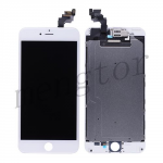 LCD Screen Display with Touch Digitizer, Frame and Front Camera for iPhone 6 Plus (5.5 inches) (Generic)  - White