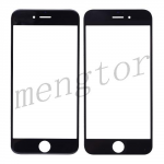 Front Screen Glass Lens for iPhone 6/ 6S (4.7 inches)  (High Quality)  - Black