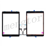 Touch Screen Digitizer With Home Button and Home Button Flex Cable for iPad Air(High Quality)  - Black