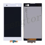 LCD Screen Display with Digitizer Touch Panel for Sony Xperia C3 D2533/ D2502 (for SONY)  - White