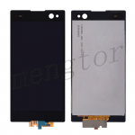 LCD Screen Display with Digitizer Touch Panel for Sony Xperia C3 D2533/ D2502 (for SONY)  - Black