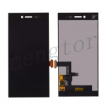 LCD Screen Display with Digitizer Touch Panel for Blackberry Z20 Leap STR100-2 - Black