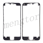 LCD Frame with Adhesive for iPhone 6  (4.7 inches)  - Black