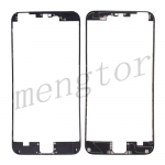 LCD Frame with Adhesive for iPhone 6 Plus  (5.5 inches)  - Black