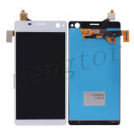 LCD Screen Display with Digitizer Touch Panel for Sony Xperia C4 E5303/ E5306/ E5353 (for SONY)  - White