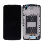 LCD Screen Display with Digitizer Touch Panel and Bezel Frame for LG K10/ K410/ K420N/ K428/ K430/ K430DS/ K430DSF - Black