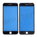 Front Screen Glass Lens with LCD Digitizer Frame for iPhone 6 Plus (5.5 inches)  - Black