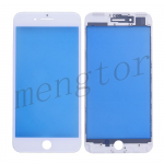 Front Screen Glass Lens with LCD Digitizer Frame for iPhone 7 Plus (5.5 inches)  - White