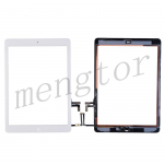 Touch Screen Digitizer With Home Button and Home Button Flex Cable for iPad Air - White