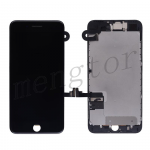 LCD Screen Display with Touch Digitizer Panel and Frame,Front Camera,Earpiece Speaker & Proximity Sensor Flex Cable for iPhone 7 Plus (5.5 inches) (Generic)  - Black