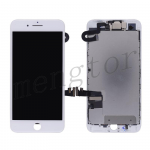 LCD Screen Display with Touch Digitizer Panel and Frame,Front Camera,Earpiece Speaker & Proximity Sensor Flex Cable for iPhone 7 Plus (5.5 inches) (Generic)  - White