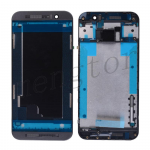 Front Housing with Bezel Frame for HTC One M9 - Black