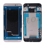 Front Housing with Bezel Frame for HTC One M9 - Silver