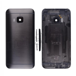 Back Cover With Camera Lens and Flash Light Lens,Power & Volume Buttons for HTC One M9 (for HTC)  - Black