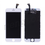 LCD with Touch Screen Digitizer with Frame for iPhone 6 (4.7 inches)  (Generic S)  - White