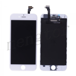 LCD with Touch Screen Digitizer with Frame for iPhone 6 (4.7 inches)  (High Quality S)  - White