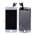 LCD with Touch Screen Digitizer, Frame and Front Camera for iPhone 6 (4.7 inches)  (Generic S)  - White