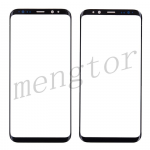 Front Screen Glass Lens for Samsung Galaxy S8 Plus G955 - Black