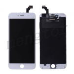 LCD with Touch Screen Digitizer and Frame for iPhone 6 Plus (5.5 inches)  (High Quality S)  - White