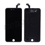 LCD with Touch Screen Digitizer and Frame for iPhone 6 Plus (5.5 inches)  (High Quality S)  - Black