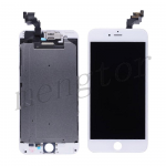 LCD Screen Display with Touch Digitizer, Frame and Front Camera for iPhone 6 Plus (5.5 inches)  (Generic S)  - White