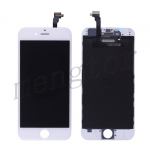 LCD with Touch Screen Digitizer with Frame for iPhone 6 (4.7 inches) (Generic Plus)  - White