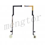 Home Button Key with Flex Cable for iPad Air - White