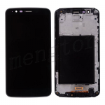LCD Screen Display with Touch Digitizer Panel and Frame for LG Stylo 3 LS777 L83BL L84VL M430(for LG) - Black