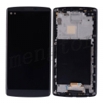LCD Screen Display with Digitizer Touch Panel and Middle Frame for LG V10 H900/ H901 (for LG)   (Silver Frame) - Black