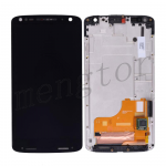 LCD Screen Display with Touch Digitizer Panel and Bezel Frame for Motorola Droid Turbo 2/ Moto X Force XT1580/ XT1581/ XT1585 (for Verizon)  - Black