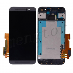 LCD Screen Display with Digitizer Touch Panel and Bezel Frame for HTC One M9 (for HTC)  - Black
