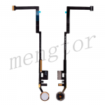 Home Button Connector with Flex Cable Ribbon for iPad 5 (2017)/ iPad 6 (2018) - Gold