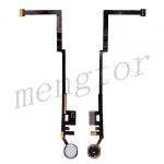 Home Button Connector with Flex Cable Ribbon for iPad 5 (2017)/ iPad 6 (2018) - Silver