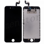 LCD Screen Display with Touch Digitizer Panel and Frame for iPhone 6S (4.7 inches) (Generic Plus) - Black
