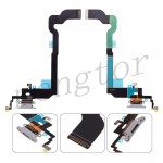 Charging Port with Flex Cable for iPhone X (Super High Quality) - Gray
