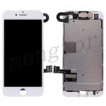 LCD Screen Display with Touch Digitizer Panel and Frame,Front Camera,Earpiece Speaker & Proximity Sensor Flex Cable for iPhone 8(4.7 inches) (Generic Plus) - White