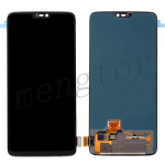 LCD Screen Display with Digitizer Touch Panel for OnePlus 6 - Black