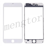 3 in 1 Front Screen Glass Lens with LCD Digitizer Frame and OCA for iPhone 6 Plus (5.5 inches) - White