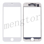 3 in 1 Front Screen Glass Lens with LCD Digitizer Frame and OCA for iPhone 8 (4.7 inches) - White