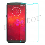 Tempered Glass Screen Protector for Motorola Moto Z3 Play XT1929 (Retail Packaging)