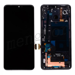 LCD Screen Display with Touch Digitizer Panel and Bezel Frame for LG G7 ThinQ LM-G710(Black Frame) - Black